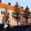 F3173<br /> Hortuslaan, noordzijde. De poort links op de foto is thans de uitrit voor het Hortusplein