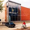 F2483<br /> Het Sociaal Cultureel Centrum 't Onderdak (de vroegere De Visserschool) aan de J.P. Gouverneurlaan. Foto: 2001.