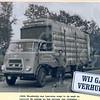 F0729 <br /> Expeditie- en verhuisbedrijf annex meubelopslag Van Leeuwen & Zn., uitgegeven ter gelegenheid van het 80-jarig bestaan van de zaak. Boudewijn van Leeuwen op de Industriekade. Foto: 1968.