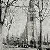 F2173<br /> De  r.-k. St. Pancratiuskerk met links de pastorie, in het begin van de 20ste eeuw. Tussen 1913 en 1929 is de kerk uitgebreid en is de toren vervangen door de huidige (2016).