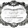 F3651<br /> Een 'vereerend' getuigschrift van de School met den Bijbel. Foto: 1935