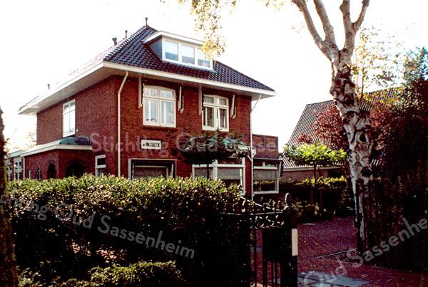 F2089<br /> Villa De Wasbeek aan de Hoofdstraat.