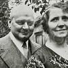 F4537<br /> Dhr. De Gruijter en echtgenote.