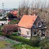 F1465 <br /> Het woonhuis van de fam.Heemskerk aan de Teylingerlaan, later bewoond door de fam. Blom. Het huis is inmiddels afgebroken.