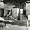 F2854<br /> Foto van het interieur van de gereformeerde kerk ca. 1925.
