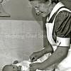 F1518 <br /> Zuster Van den Beukel, wijkverpleegster en verbonden aan huize Bethesda.
