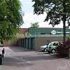 F3332<br /> De ingang naar het Planetenplein. Hier nog met de oude garages en rechts het industriegebied.