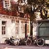 F2954<br /> De achterkant van café Van Hage aan de Hoofdstraat. Foto: tussen 1925-1971