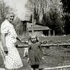 F2060<br /> Mevr. C.M. van Tol-van Menken (1907-1964), echtgenote van Thijs van Tol. Zie foto F2059. Foto: vóór 1940.