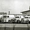 F2949<br /> Het wagenpark van de Vleeswarenfabriek van de fa. Malmberg.Foto: 1949