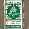 F3905<br /> Een postzegel van de firma G. van Waveren & Kruijff.