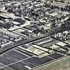F3563<br /> Een luchtfoto van de Zandslootkade en omgeving. De Postwijk is nog niet aangelegd.