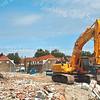 F2034<br /> De sloop van de huizen in de Oranjebuurt. Foto: 2006