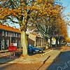 F1814 <br /> De Beatrixstraat vóór de reorganisatie van rijrichting en parkeerruimte in 1999. Foto: 1999.