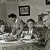 F2678<br /> Het gezin van dominee Krijkamp. Vlnr: Willy, Ada, mevr. Krijkamp en ds. Krijkamp.