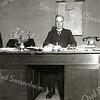 F2369<br /> Abraham Leendert Verhoog, geboren in Leiden op 11 mei 1875, zoon van Abraham en Christina Dee.<br /> Gehuwd: Leiden 11 mei 1898 met Sophia Wilhelmina Vlasveld (Leiden 10-06-1876) – (Leiden 12-11-1946)<br /> Overleden: Sassenheim 06-03-1934.<br /> Beroep: timmerman, gemeenteopzichter, architect<br /> Beschrijving: Hij was in de jaren 1906 tot 1934 gemeenteopzichter in Sassenheim. Aanvankelijk was deze functie een zogenaamde bijbetrekking, later met de groei van de gemeente namen ook de werkzaamheden toe en werd dit een volledige baan. Ook kreeg hij meer opdrachten als architect en vestigde hij zich in 1911 definitief in Sassenheim. In de oorlogsjaren was de heer Verhoog mede belast met de leiding van het distributiebureau, een taak die veel werk betekende, ook omdat hij als architect steeds meer belangrijke opdrachten kreeg, bijvoorbeeld de CODRO (coöperatieve groentedrogerij voor de bloembollenstreek). Hij woonde in de Hoofdstraat 200 en later Kerklaan 29.
