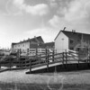 F4183 <br /> Gezicht vanaf de Zandsloot op de nieuwbouw van Sassenheim, plan Postwijk. Foto: 1985