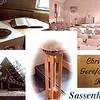 F2411<br /> Een compilatie van de christelijk-gereformeerde kerk, de Havenkerk, op de hoek van de Kerklaan en de Bijweglaan.