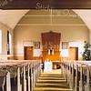 F2412<br /> Het interieur van de christelijk-gereformeerde kerk, de Havenkerk, op de hoek van de Kerklaan en de Bijweglaan. Foto: 2011.