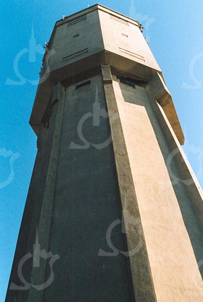 F4272<br /> <br /> De watertoren aan de Wasbeekerlaan, eigendom van de fa. D. Meyer. Foto: 2003