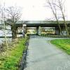 F3924<br /> Wegsplitsing bij viaduct van de A44 over de Ringvaart. De weg recht vóór ons is grondgebied van Lisse. Rechtsaf is naar de boerderij van Robert Adema (Sassenheims grondgebied) en rechtdoor is naar de camping De Hof van Eeden en de Zuivelboerderij Pennings (beide op Warmonds grondgebied). Achter het viaduct ligt het punt waar<br /> Warmond, Lisse en Sassenheim aan elkaar grenzen. Foto: 2014.