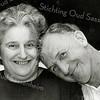 F2711<br /> Meneer en mevrouw Kruit–Vos. Ze woonden aan de Rusthofflaan.