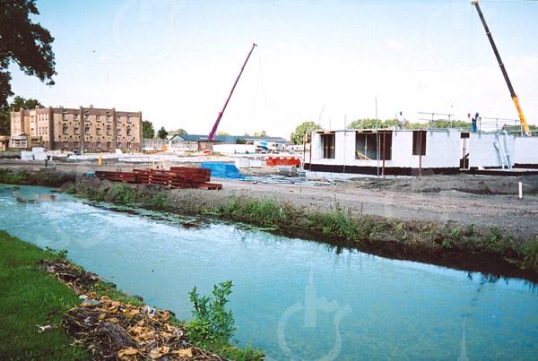 F4282<br /> Nieuwbouw aan de Teijlingerlaan. Foto: juni 2003