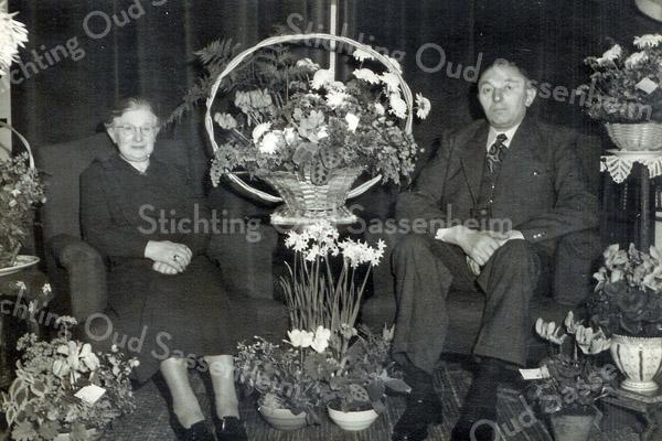 F3421<br /> Het echtpaar Bouke de Boer en Jacomina van der Tang.