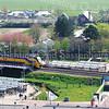 F3937<br /> Het station en de Stationslaan in Sassenheim. Foto: 2014