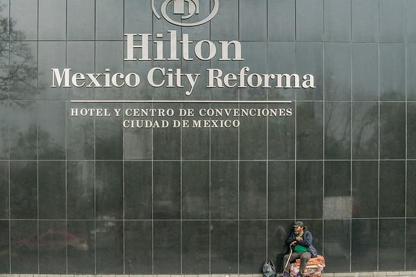 Hilton's homeless