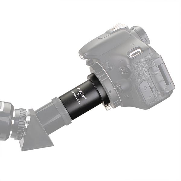 SVBONY 5X Barlow Lens 1.2531.7mm Metal  (10)