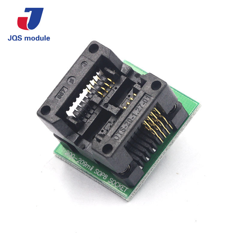 New SOP8 to DIP8 Wide-body Seat Wide 200mil Programmer Adapter Socket