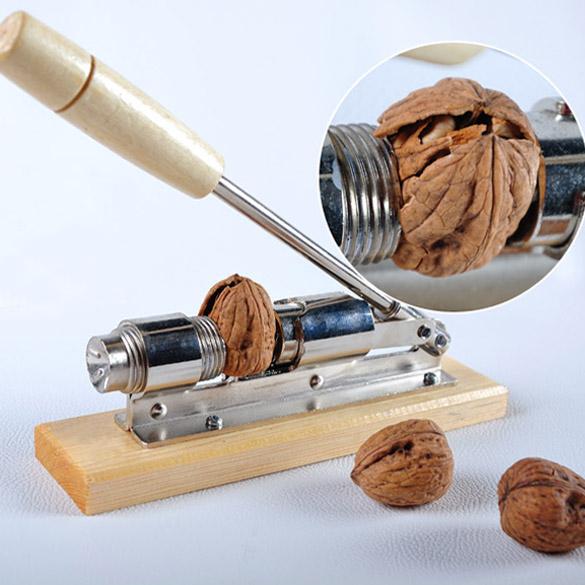 Kitchen Hool of Nutcracker Quick Walnut Hazel Cracker Sheller Nut Opener Clamp