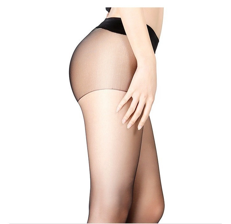 Details about  /Seamless Casual Cut Stockings Female Tights Pantyhose Invisible Anti-hook Silk