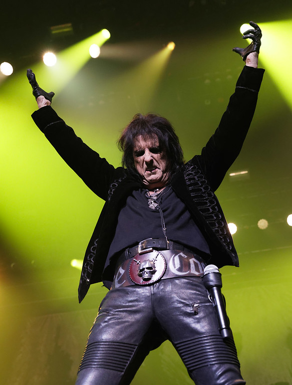. Alice Cooper  live at Caesar\'s Windsor  on 3-1-2018.  Photo credit: Ken Settle