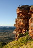 Mt Gillen, near Alice Springs. Munro and I headed up for a Sunset shot.