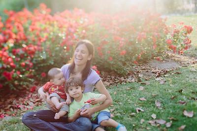 Alicia, Gabriel y Teo