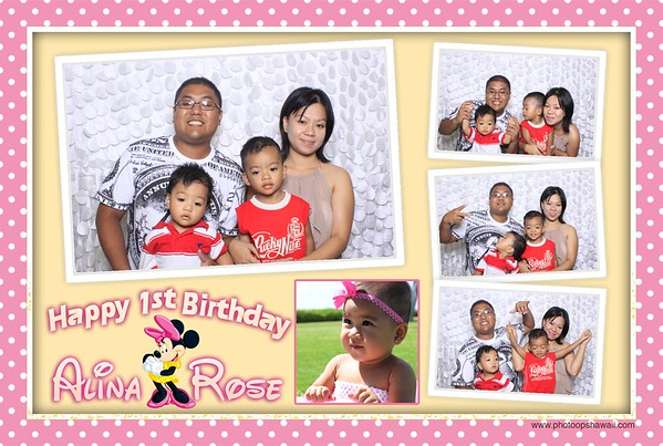 Alina Rose 1st Birthday (Fusion Photo Booth)