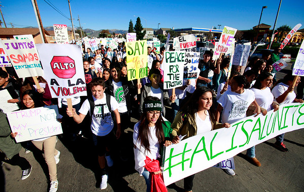 Alisal High Protest - 111716