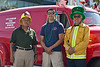 Joe Ortiz (retired Fireman), Raymond Ortiz (US Forest), Jesse Ortiz (36 years on LAFD)