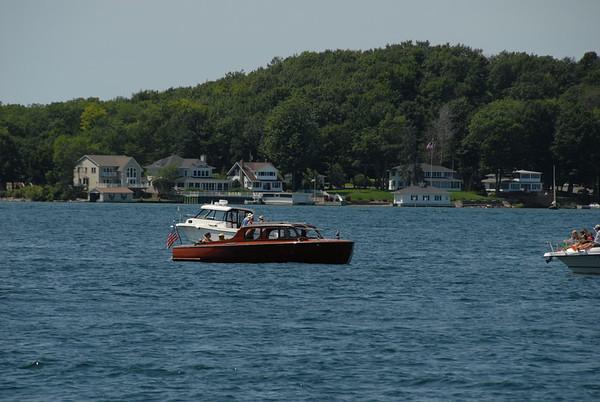 1000 Islands Antique Boat Parade @ Clayton NY 8-10