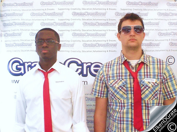 -C. M. Parker- (On left)   I am a 28 year old graduate of Clemson University. My major was Language and International Trade, and I can speak Spanish. Currently, I am earning an Associate's in Digital Arts at HGTC. My future goals and aspirations are to become a self-employed Graphic Designer, and use my Spanish speaking skills in that career. I would like to design media for organizations, churches, businesses, and individuals. Also, I would like to become a Translator or find a company that needs a Spanish speaker.