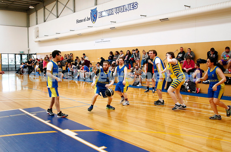 13-11-16. Maccabi All Abilities basketball tournament at the Bialik Basketball Stadium. Photo: Peter Haskin