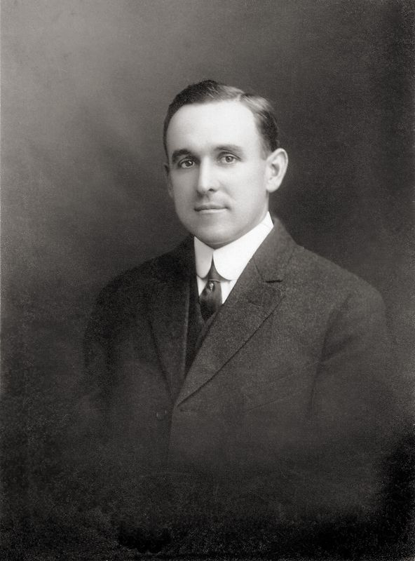George Carleton Shafer in 1904 in Montrose, Pennsylvania.