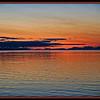 Sunset from MS Ryndam, near Juneau, Alaska