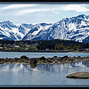 Panorama of Haines Alaska