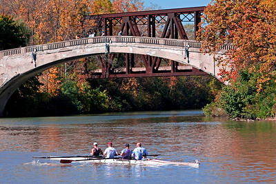 Fall Day on the Genesee River