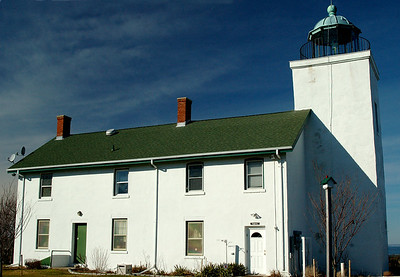 Horton Lighthouse from the back.