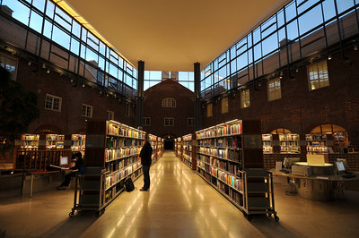 Stockholm, KTC University library