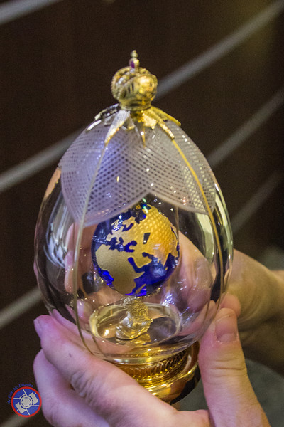 A Magnificent Fabergé Egg Available for Purchase on Board the Westerdam (©simon@myeclecticimages.com)